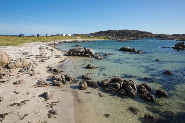 Fidden beach, near Iona and Fionnphort.