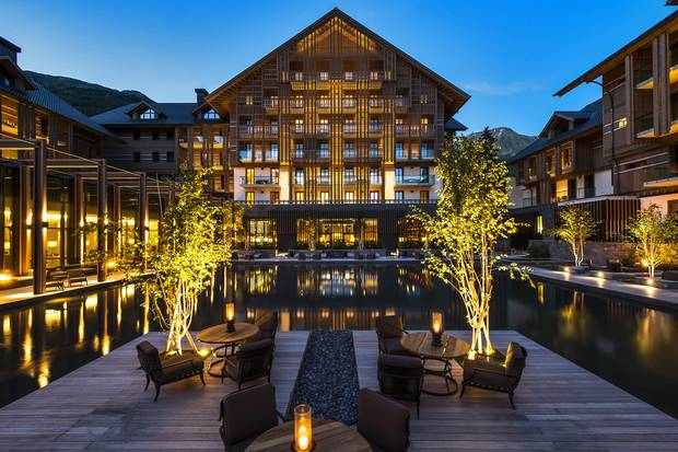 The Chedi Andermatt is one of of this new magisterial breed of Swiss hotel. It has started using snow cannons – unheard of in these parts until a few years ago.
