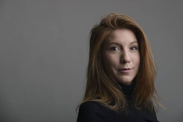 Swedish journalist Kim Wall, shown in 2015.