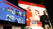 Netflix CEO Reed Hastings (MIKE CASSESE/REUTERS)