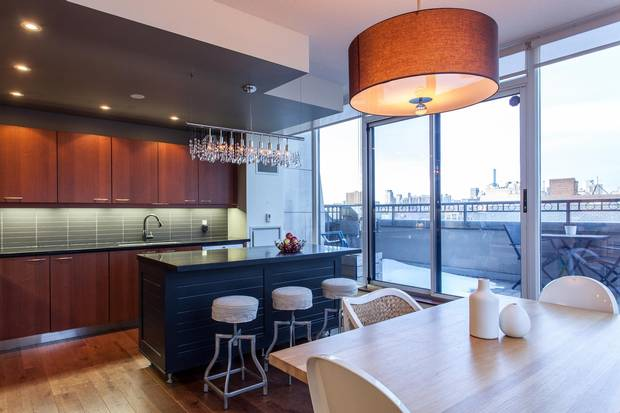 Situated at the corner of Palmerston Avenue and College Street, the condo is right in the midst of Little Italy's restaurants and shops.