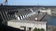 Brazil's Itaipu Hydroelectric dam. Hydroelectric reservoirs in the populous southeast industrial hub are operating at 28.8 per cent of capacity, and those in the northeast are at 31.61 per cent of capacity. (RICKEY ROGERS/REUTERS)