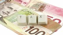 Canadian dollar and taxes. (Feng Yu/iStockphoto)