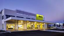 Hertz is trying to overcome economic setbacks and build customer loyalty by making its locations more pleasing to visit and the process of car rentals faster and easier. (JACKMAN REINVENTS)