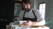 Rene Redzepi, the chef behind the Michelin-starred restaurant Noma in Copenhagen, Denmark. (Ivy Knight for The Globe and Mail)