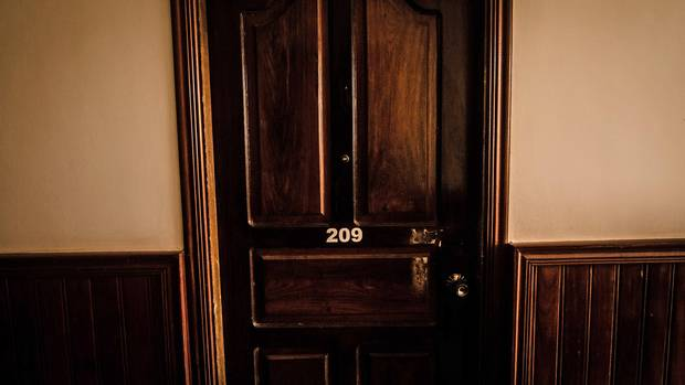 Room 209 at The Green Village Angkor guesthouse, where Dave Walker was last seen on Feb. 14, 2014.