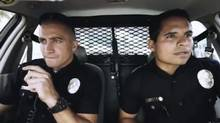 "Screen grab from trailer for ""End of Watch"""