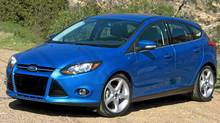 2012 Ford Focus hatchback (Dan Proudfoot for The Globe and Mail)