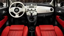 The seats in a 2013 Fiat 500 are mediocre, writes Jeremy Cato (Chrysler.)