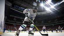 Hockey Canada admits that costs have risen to a point where organized hockey is largely seen as an urban activity of the well off. It's expensive, many feel far too expensive in an era when having a child in a top competitive league can cost as much as an Ivy League college education. (JOHN LEHMANN/The Globe and Mail)