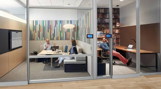 The Quiet Spaces collection, by Steelcase