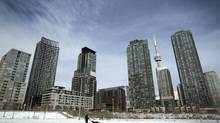 Condo towers in Toronto. (Peter Power/The Globe and Mail)