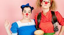 Morro and Jasp: Go Bake Yourself. The Samuel Beckett estate famously won't let women play the parts of Vladimir and Estragon, so what are a pair of female clowns to do but create their own work.