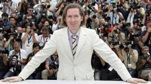 Director Wes Anderson poses during a photo call for Moonrise Kingdom at the Cannes film festival, May 16, 2012. (Joel Ryan/Joel Ryan / AP)