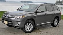 2011 Toyota highlander Hybrid (Michael Bettencourt for The Globe and Mail)