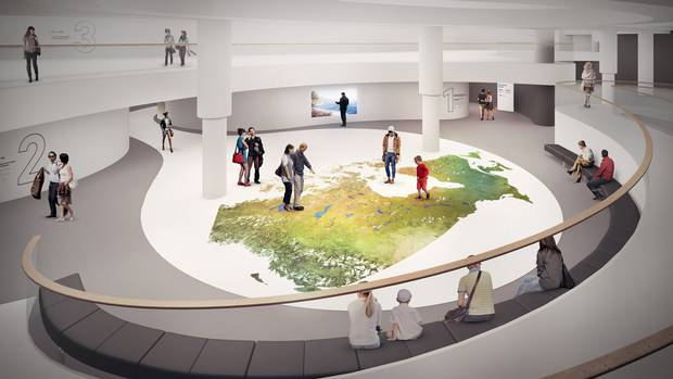 At the $30-million History Hall, the Canadian Museum of History found a venue to present the nation's past in a new way. Read Daniel Leblanc's profile of the hall's design and the vision behind it.