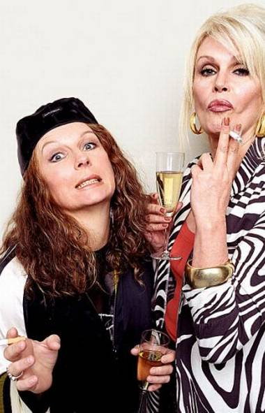 COMEDY Absolutely Fabulous (Vision, 8:30 p.m.) Sharp as it ever was, this saucy British sitcom originally broadcast from 1992 to 1995 and on any given night it's still the funniest show on TV. Judge for yourself with tonight's fourth-season outing in which the faded fashionista Edina (Jennifer Saunders) is asked to participate in a mother-daughter fashion layout to be shot in Paris. First, Edina tries book the actresses Kate Beckinsale, Live Tyler and Chloe Sevigny for the shoot; eventually she settles on her own real daughter Saffy (Julia Sawalha). The real fun begins in Paris when Edina and her drinking pal Patsy (Joanna Lumley) attempt to resurrect a tradition they used to perform once a year in the City of Lights: Flashing their breasts. Oh, behave, girls!
