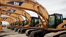 Finning International is the world's biggest dealer of Caterpillar heavy equipment. (Scott Olson/Getty Images)