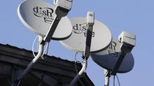Dish Network satellite dishes. Dish Network is offering to buy Sprint Nextel Corp. in a cash-and-stock deal it values at $25.5-billion (U.S.), saying its bid is superior to that of Japanese phone company SoftBank. (Paul Sakuma/AP)