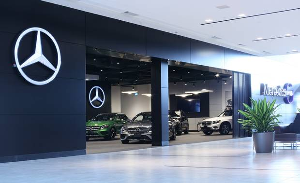 Mercedes me Store Markham, a retail space in CF Markville