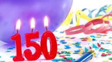 Birthday-anniversary No. 150 (efesan/Getty Images/iStockphoto)