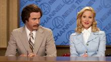 Will Ferrell and Christina Applegate in the original Anchorman: The Legend of Ron Burgundy. (Reuters/DreamWorks Studios)