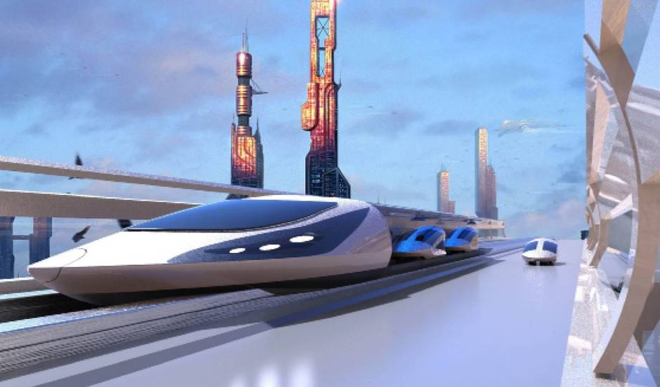 An electric train you can hitch your car to