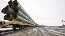 Eastern and western attitudes differ when it comes to pipelines in Canada, a TransCanada executive said. (Eric Hylden/The Associated Press)