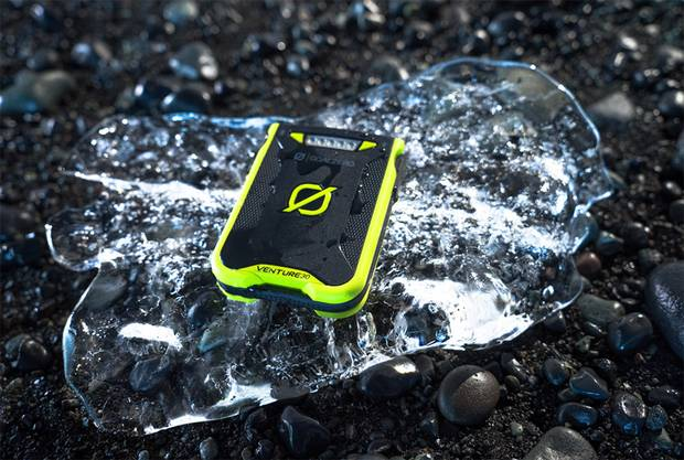 Goal Zero Venture 30 is an weather-proof, easy-to-use smartphone recharger featuring a built-in charging cable, so there's no need to carry around your own.