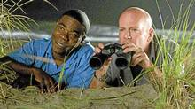 Tracy Morgan and Bruce Willis in the failed '80s throwback Cop Out.
