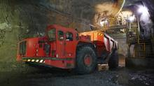 Production at HudBay mine. (Brian Pieters)