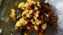 David Lee's roasted curried cauliflower (Deborah Baic/The Globe and Mail)