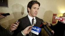 NHL vice president of hockey and business development Brendan Shanahan speaks to reporters Nov. 9, 2010. (Darren Calabrese/The Canadian Press/Darren Calabrese/The Canadian Press)