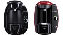 Pictured are two of the Tassimo machines in the recall: Lef, models TAS100x, TAS451x, TAS46x, on the right the TAS200x (Tassimodirect.com)