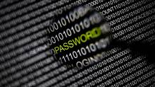 File picture illustration of the word 'password' pictured through a magnifying glass on a computer screen, taken in Berlin May 21, 2013. (PAWEL KOPCZYNSKI/REUTERS)