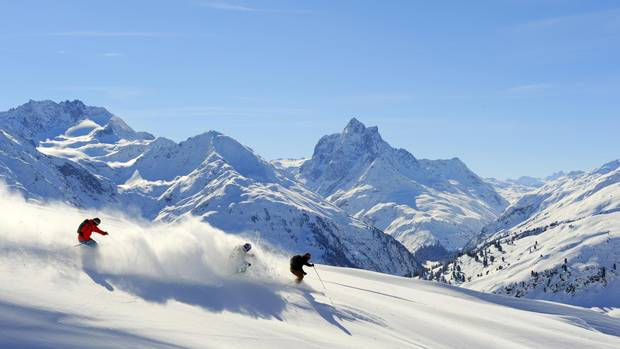 There are plenty of holiday destinations in the St. Anton am Arlberg region.