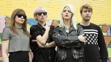The Vancouver punk rockers White Lung's third album Deep Fantasy has been praised by music critics. (Outside Music)