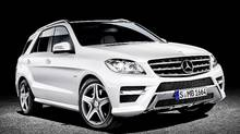 2012 Mercedes-Benz ML 350 BlueTEC (Mercedes-Benz)