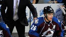 Colorado Avalanche coach Patrick Roy (JACK DEMPSEY/The Associated Press)
