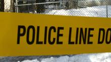 Police tape pictured in this Dec. 9, 2006 file photo. (Joe Bryksa/CP PHOTO/Winnipeg Free Press-Joe Bryksa)