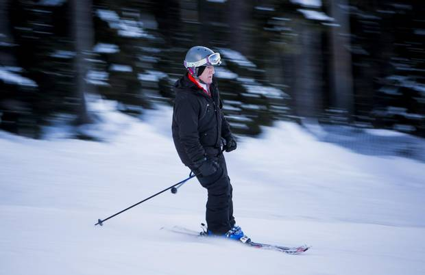 There are no official numbers on how many people older than 60 are downhill skiing in Canada today. In the United States, the National Ski Areas Association reported that just more than 5.3 per cent of skiers visiting American hills last year were older than 60.