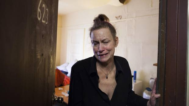 Roberta Wescenberg is a resident of the Balmoral Hotel, a building that may soon evict all its tenants.