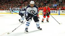 Winnipeg Jets defenseman Dustin Byfuglien (Dennis Wierzbicki/USA Today Sports)