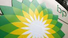 In this file photo made Oct. 25, 2007, the BP (British Petroleum) logo is seen at a gas station in Washington. (Charles Dharapak/Charles Dharapak/AP)