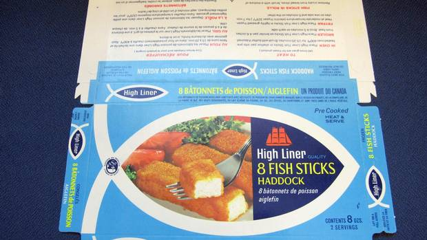 High Liner fish sticks circa the 1960s.