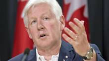 Liberal Leader Bob Rae announces his summer tour at an Ottawa news conferece on July 5, 2011. (Adrian Wyld/THE CANADIAN PRESS)