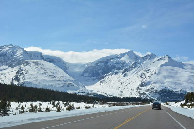 Spectacular views are a constant throughout the drive.