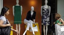 Women shop in Rio de Janeiro in this file photo. (© Ricardo Moraes/REUTERS)