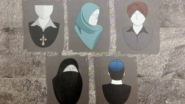 ban on religious symbols Some find new ban on religious symbols cuts both ways.