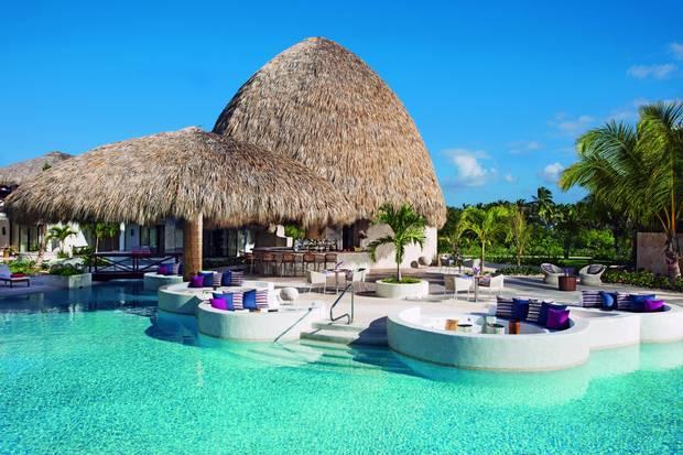 Dining options at the Secrets Cap Cana Resort include seven à la carte restaurants.